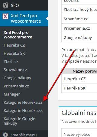 woo-xml-menu-kategorie-heureka-cz